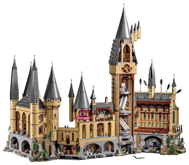 LEGO Hogwarts Castle set Harry Potter range