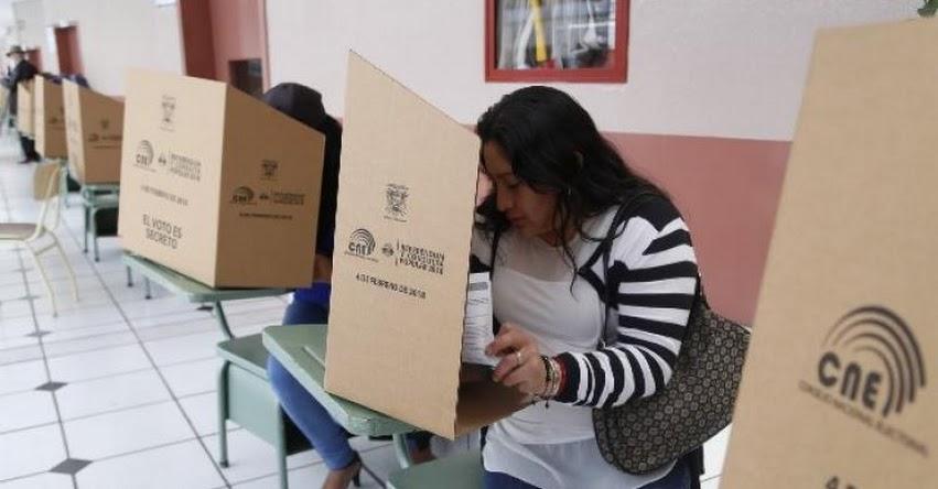 Resultados Elecciones Ecuador 2018 (4 Febrero) Referéndum y Consulta Popular - Consejo Nacional Electoral - CNE - www.resultados2018.cne.gob.ec