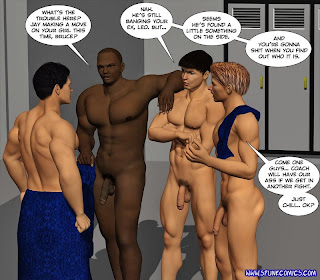 Football Locker Room Nude 10
