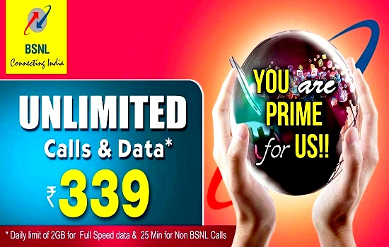 BSNL riding on new Unlimited Combo STV 339, More than 2 lakh customers subscribed within two weeks in Kerala Circle