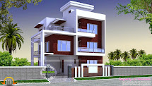 Modern House Design with Three Floors