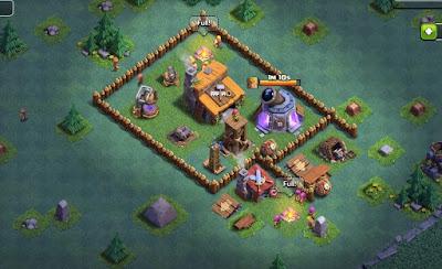 Base Aula Tukang Terbaik dan Terkuat Clash Of Clans