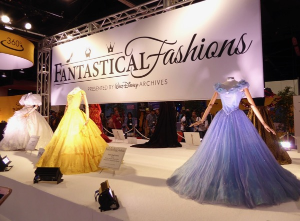 Fantastical Fashions Disney gowns D23 Expo 2017