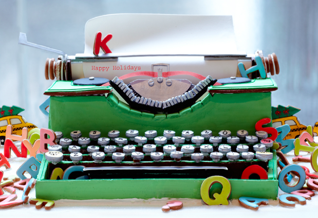 Gingerbread Typewriter from Baked Ideas by Patti Page