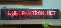 LED MOVING MESSAGE by Paktron Pakistan