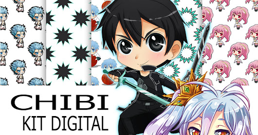 Kit digital Chibi gratis