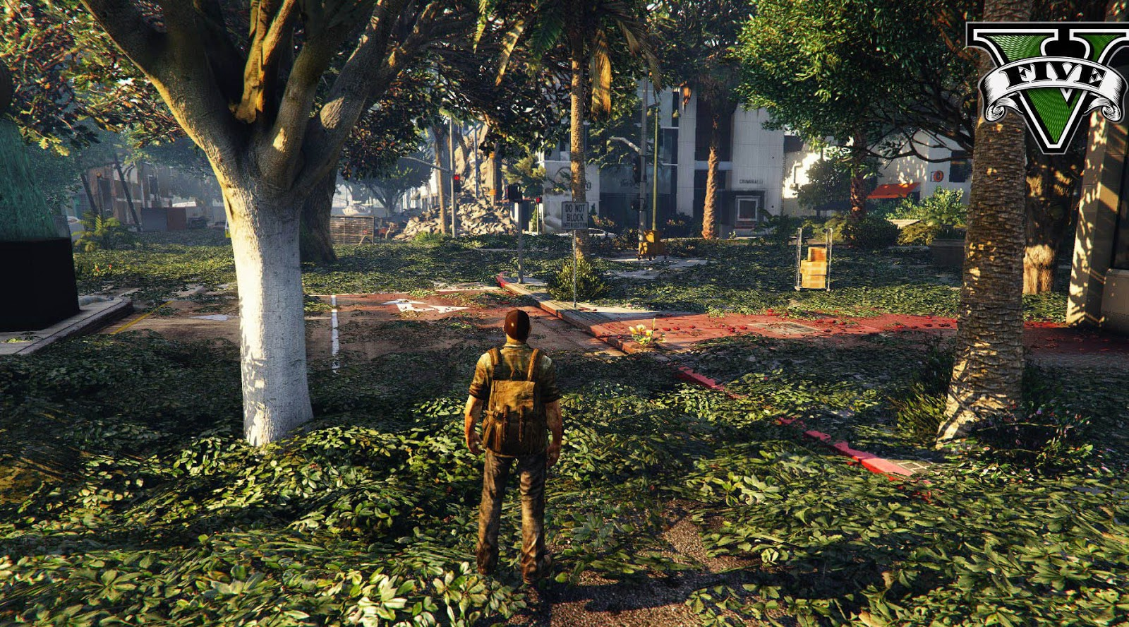 GTA 5 Mod The Last of Us Map (After Us)