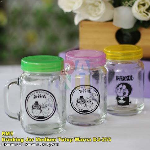 Drinking Jar Medium Tutup Warna DJ-255
