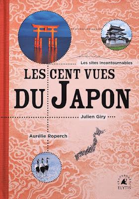"""couverture livre """"Les 100 vues du Japon"""""""