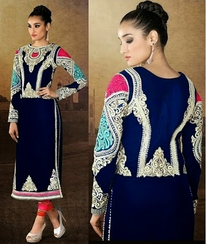 Velvet Salwar Suits 2015-16