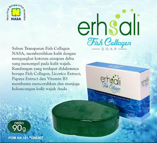 sabun erhsali fish collagen