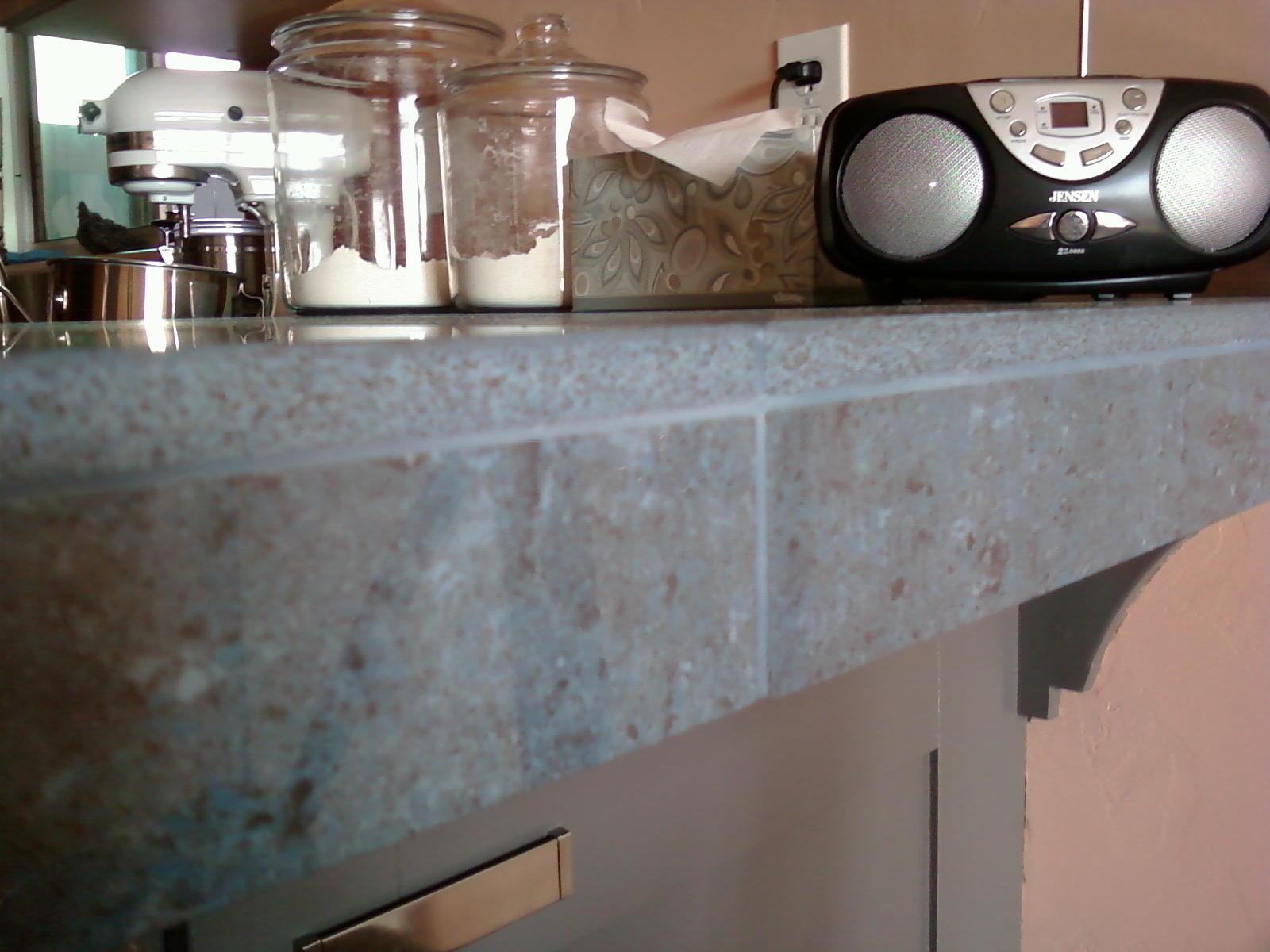 The Porcelain Tile Countertop Edge