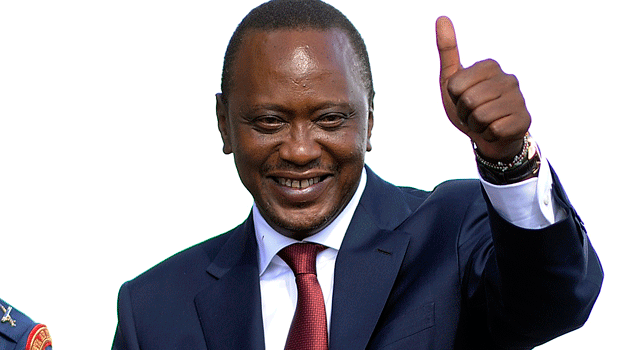 Hivi Ndivyo Kenyata Alivyotangazwa  wa Urais Kenya Akiwa na Kura 7.5m