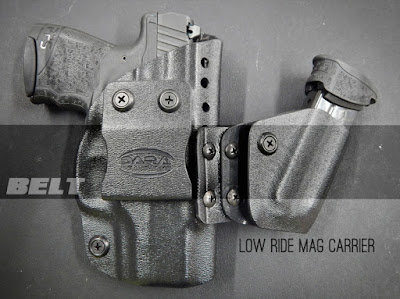 Modular Appendix Rig with Sidecar, appendix holster with attached mag carrier, holster mag carrier combo, aiwb holster, aiwb rig, aiwb carry, appendix carry, appendix carry rig, sidecar, sidecar holster, sidecar mag carrier, aiwb sidecar, sidecar holster, dara holsters