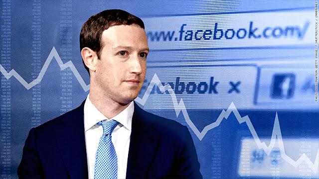 Mark Zuckerberg Loses More Than $15 Billion in Record Facebook Fall