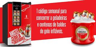 Promoção Amstel Cadeira Cativa na Libertadores