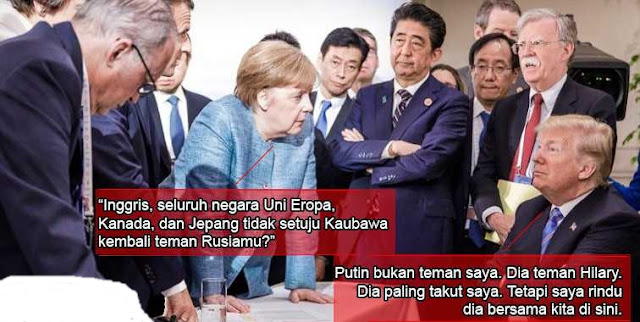 "Kangen Putin, Trump Kena ""Bully"""