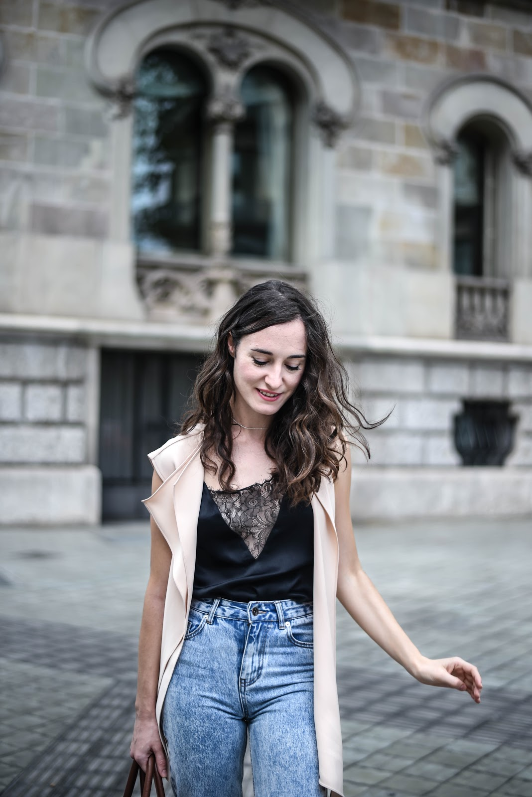 momjeans_slip_top_look_streetstyle_glitter_shoes