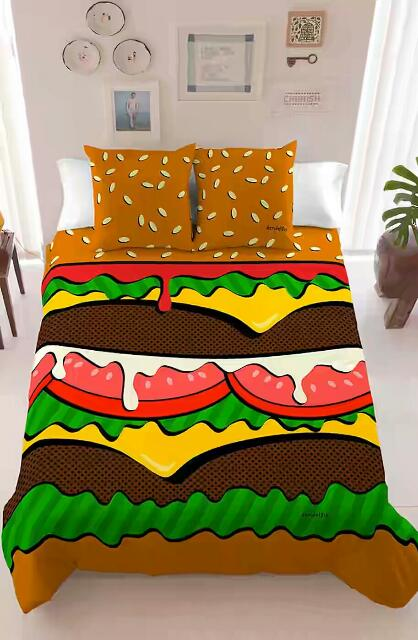 bed cover unik