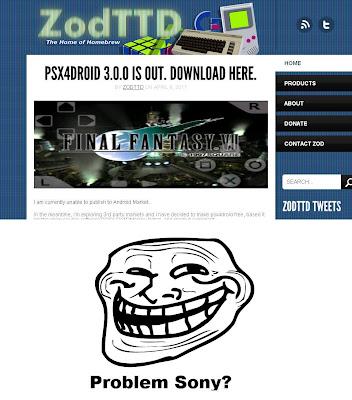 ZOdTTD_PSX4DROID [Trollagem] Emulador psx4droid agora é de graça!