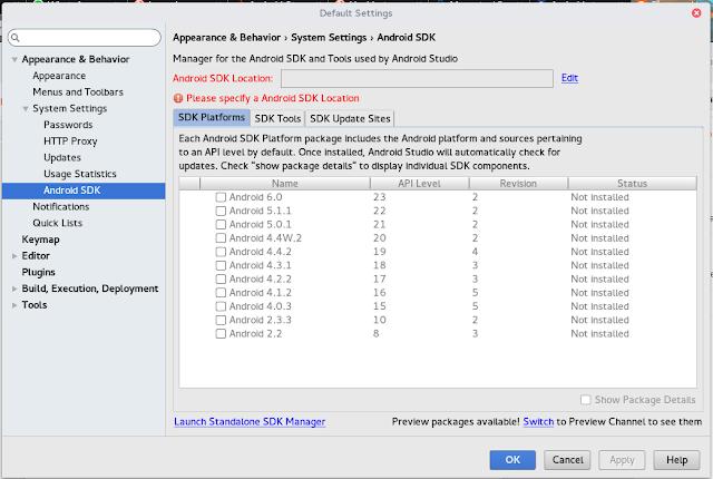 Error: Unable to run mksdcard SDK tool