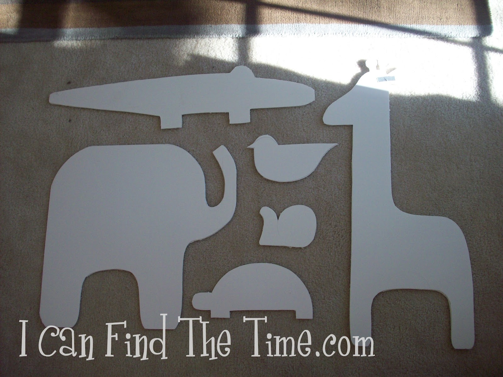 Easy Fabric Silhouette Wall Art