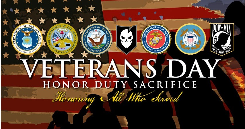 Happy Veterans Day 2018 11th November Federal Holiday