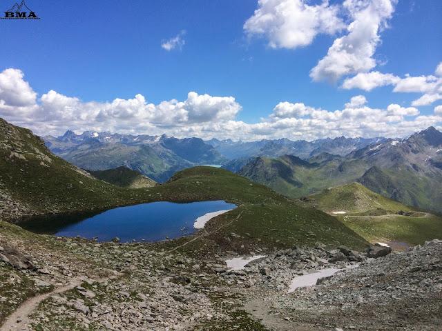 Wandern Gargellen - valisera - heimspitze