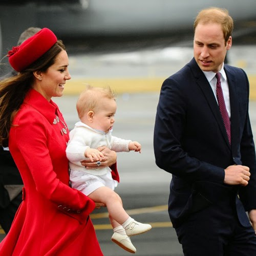Prince William And Kate's Second Royal Baby Due In April