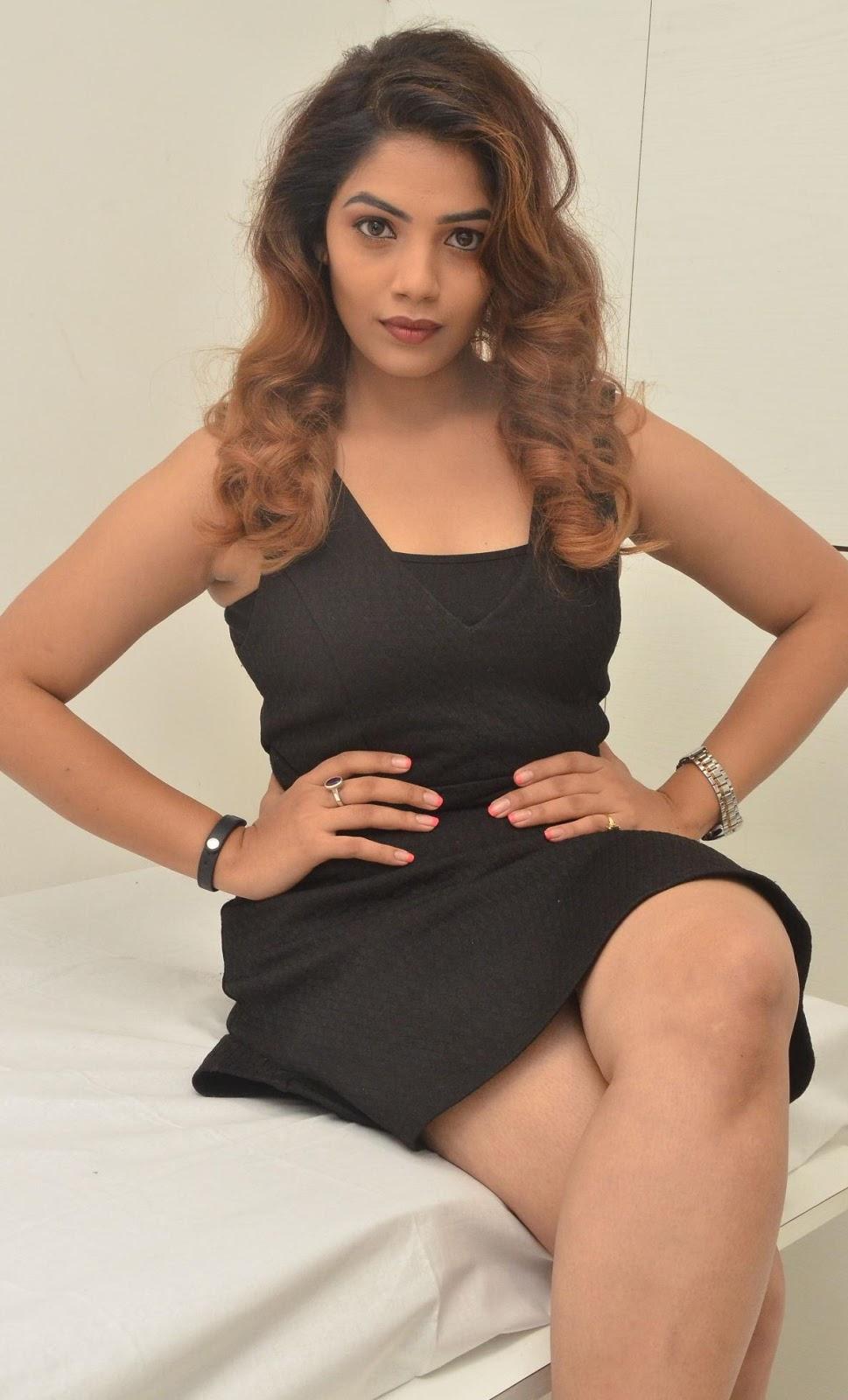 anamika hot model hair and beauty salon at l oreal
