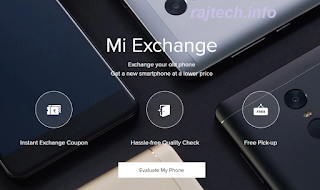Exchange Your Old MI Smartphone For a New Xiaomi Phone Via Mi.com.