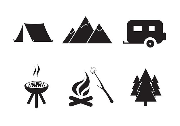 Best Hd Camping Vector Images