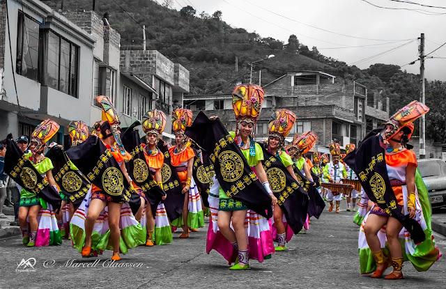 Carnaval de los Negros y Blancos in Chachagui (Nariño, Colombia)