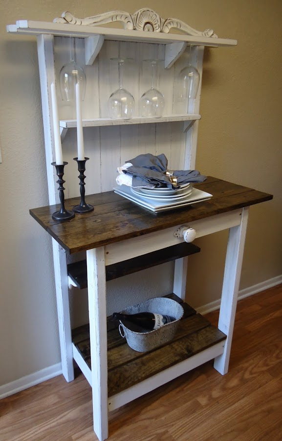 Cottage Chic Accent Table - SOLD