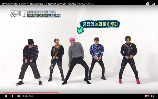 T.O.P跳2倍速《BANG》 「絢麗換腳舞步」全場笑瘋了!
