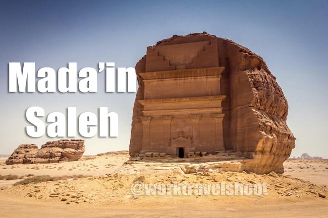 Madain Saleh by Elriz Buenaventura