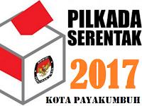 Nomor Urut Paslon di Pilkada Kota Payakumbuh
