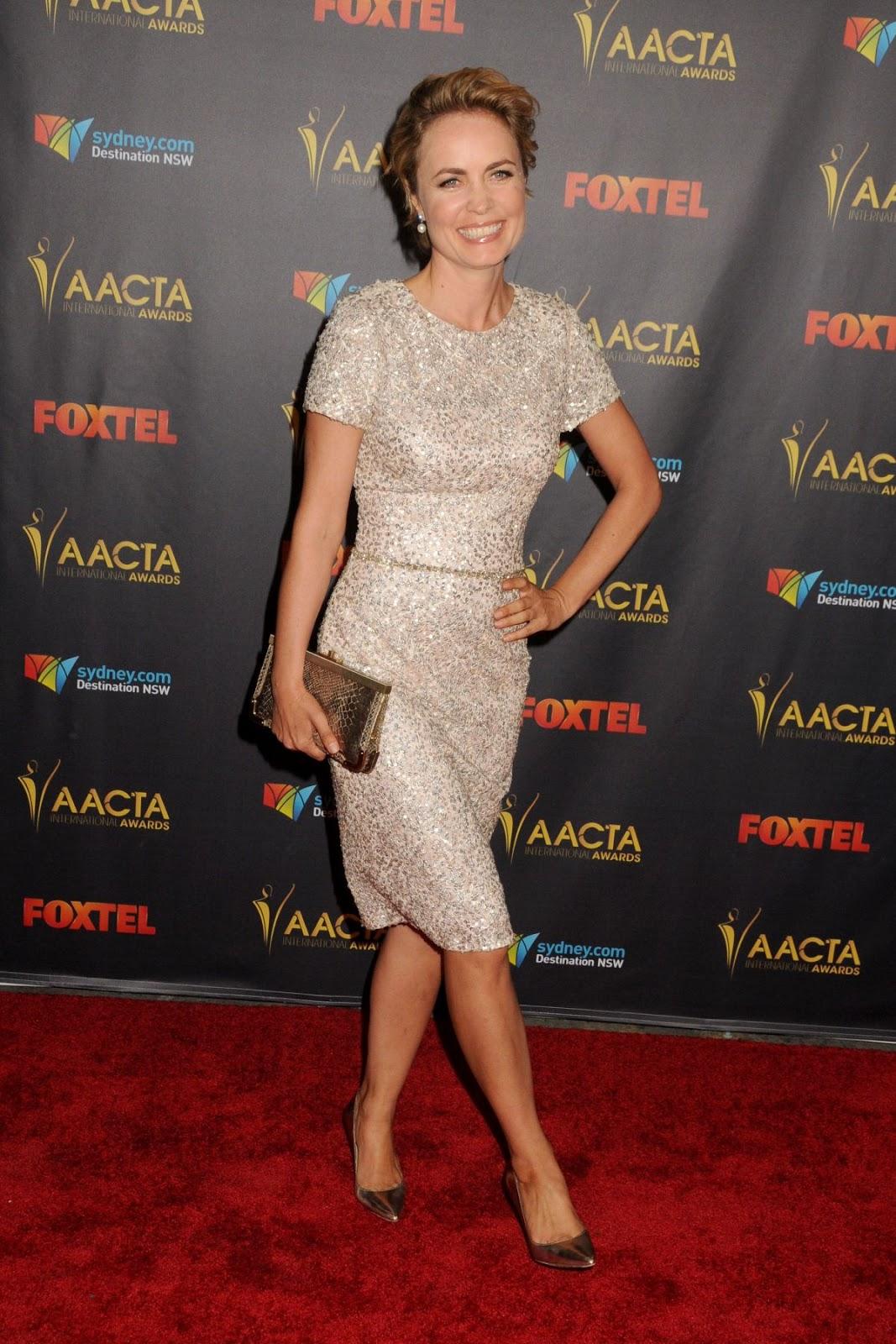 London Has Fallen actress Radha Mitchell at 5th AACTA International Awards