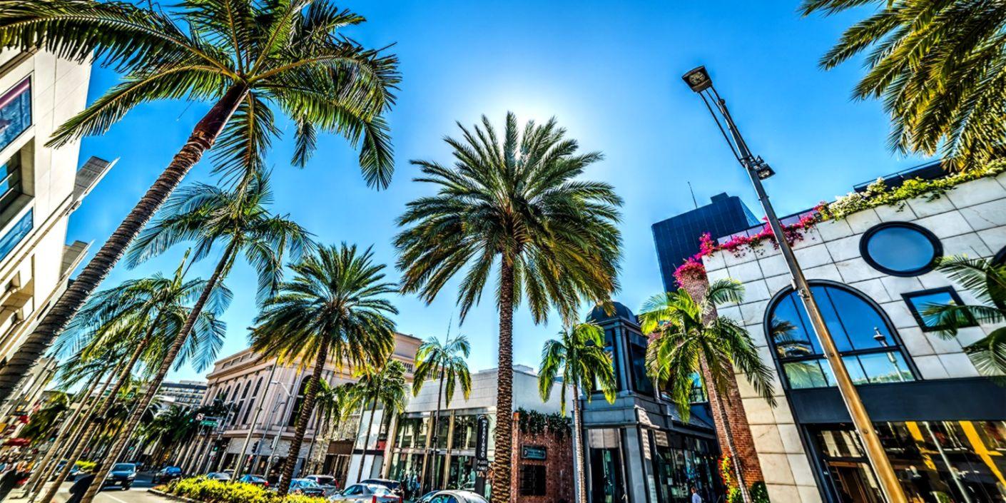 Rodeo Drive Beverly Hills California Hd Wallpaper
