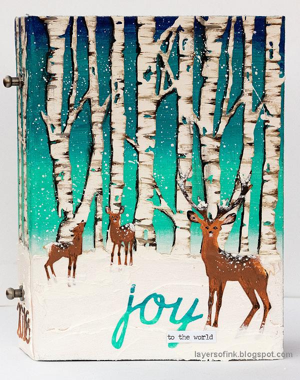 Birch Forest December Daily Tutorial