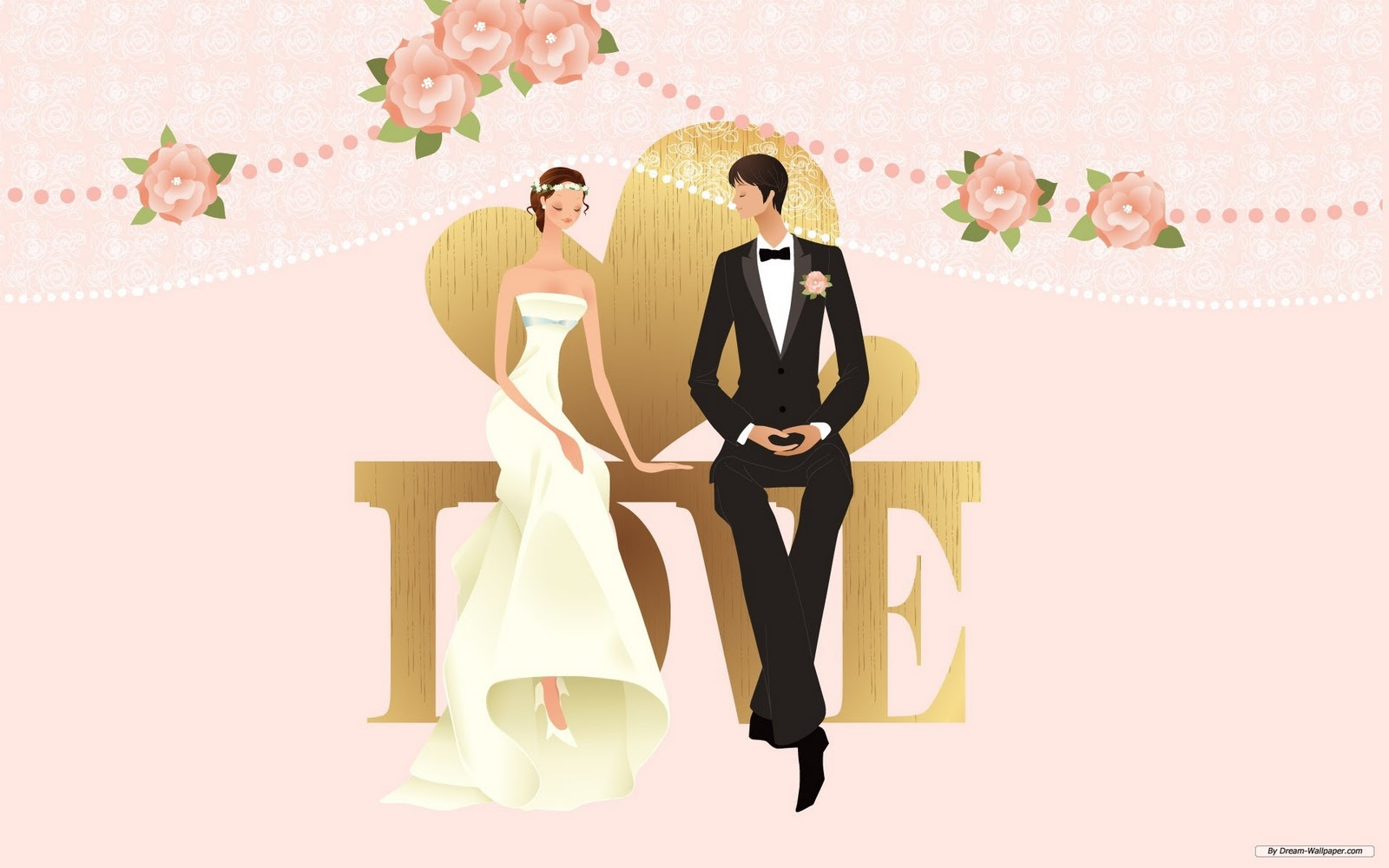 clipart of a wedding - photo #48