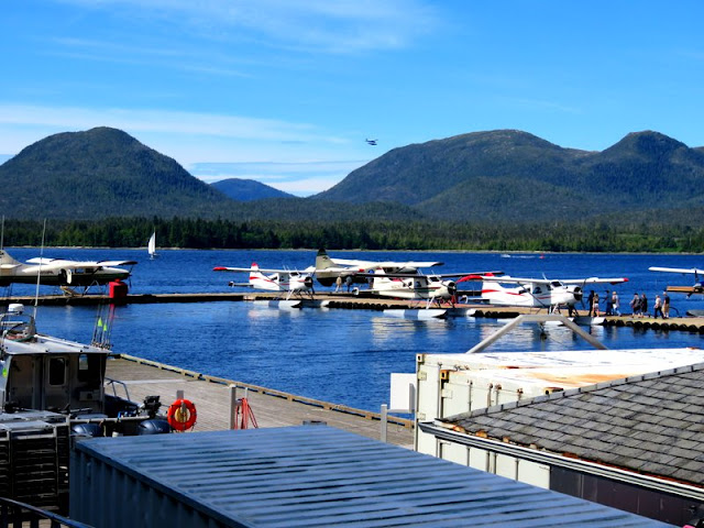 Light planes in Ketchikan