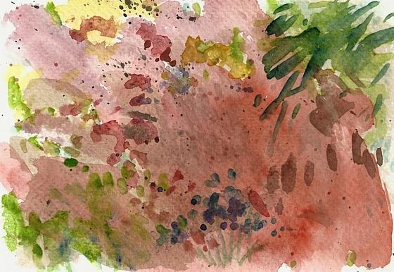 Rote Erde von Adamaoua