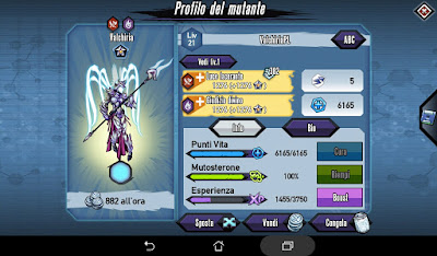 Mutants: Genetic Gladiators Breeding video N°388 Fusion Valkyrie # Fusione Valchiria
