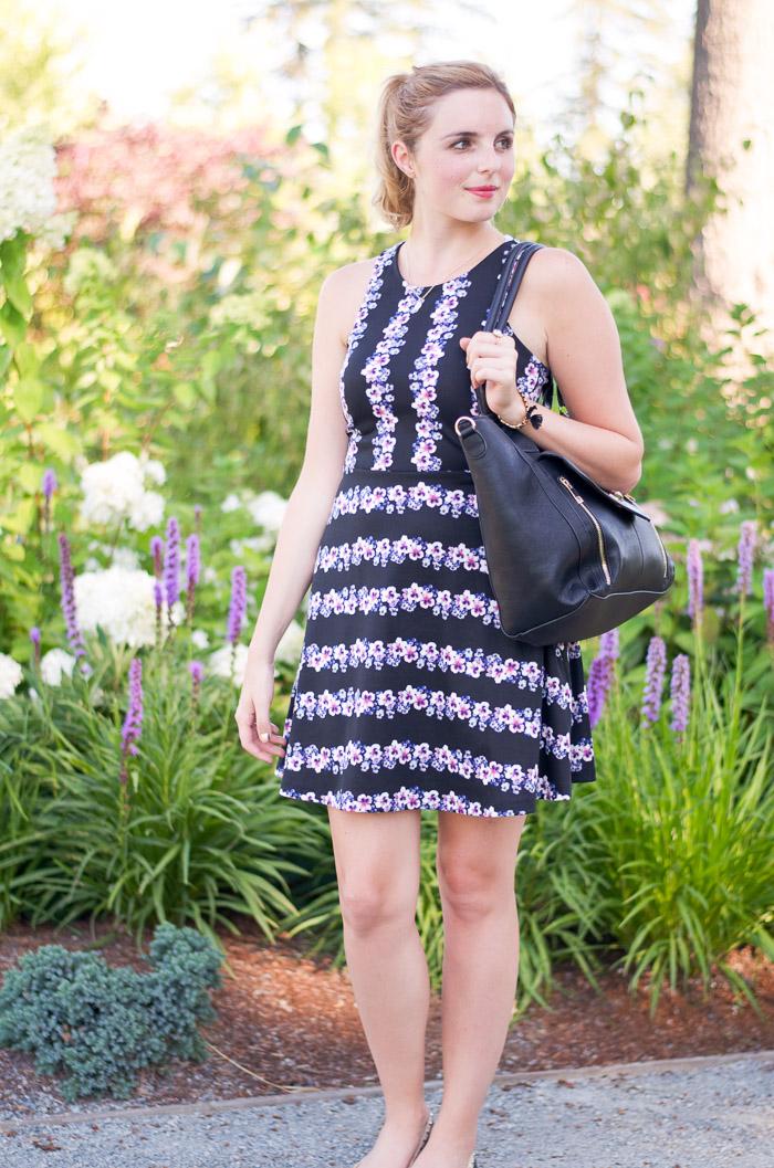 H&M Floral Dress, Pretty Floral Spring Dress, Vancouver Style Blog, Vancouver Fashion Blog, Vancouver Beauty blog, Vancouver Health Blog, Spring Outfit Ideas