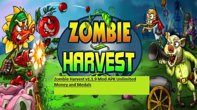 Zombie Harvest v1.1.9 Mod APK Unlimited Money and Medals