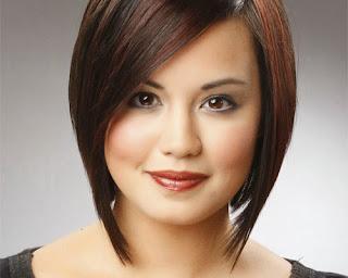 Tips Merias Wajah Bulat