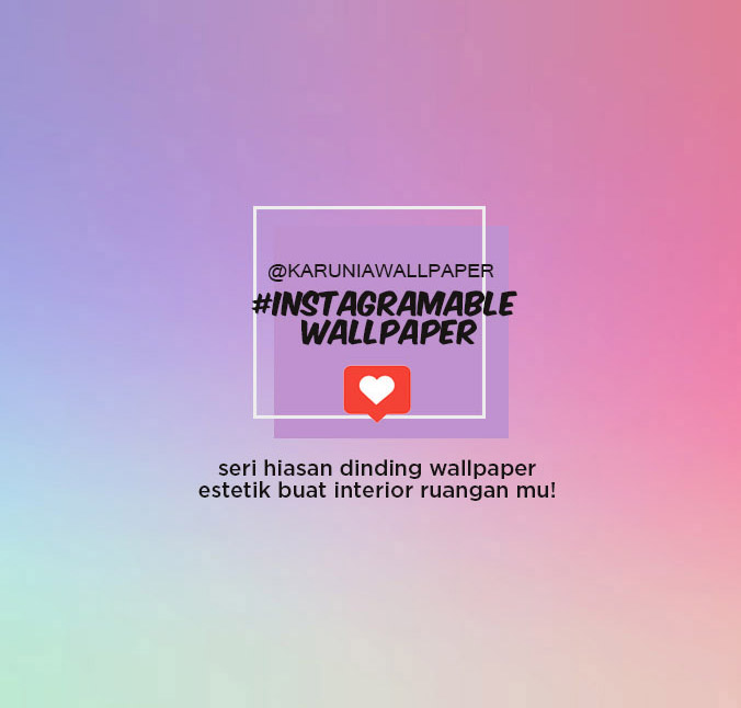 jual dinding wallpaper instagrammable