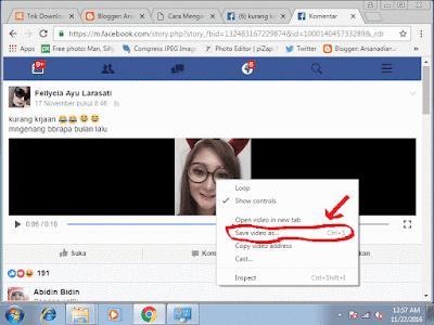 Trik Download Video Di Facebook