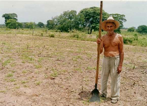 """Gilberto Chávez """"El Sembrador"""" de Villa Vieja"""